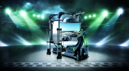 Razer Eracing Simulator Concept Offers The Ultimate Racing Experience