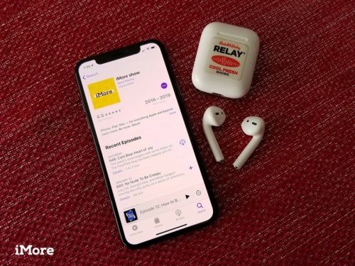 Download podcasts for offline listening or save them in the Podcasts app
