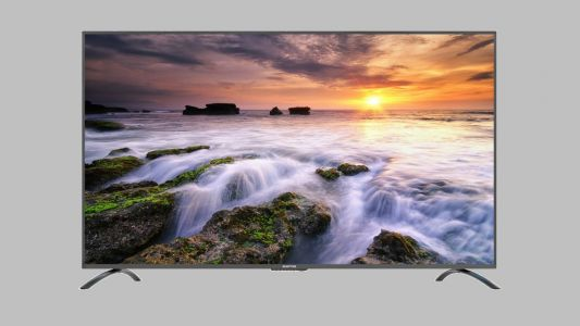 This 75-inch large format display makes a great, affordable digital signage solution