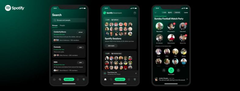 Spotify Greenroom, Another Clubhouse Competitor Launches Today