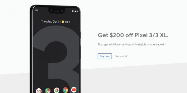 Latest Google Store deal takes $200 off Pixel 3 and Pixel 3 XL
