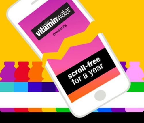 Vitamin Water Bets $100,000 You Can't Ditch Your Smartphone For A Year