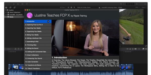IJustine launches Final Cut Pro X training for beginners with new Mac App Store course