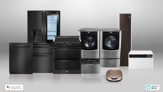 All of LG's home appliances now work with Google Assistant and Amazon Alexa