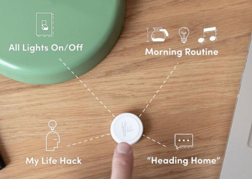 Flic 2 smart button with Apple Homekit support