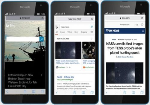 Bing For The Web Now Supports Google's AMP