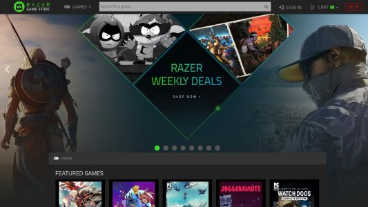 Razer's game store is on death row: closes at the end of February