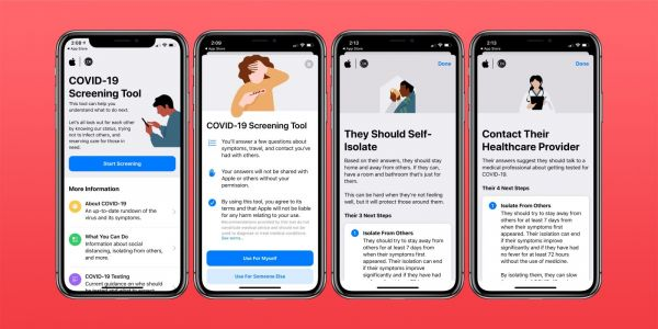 How to use Apple's COVID-19 screening app and website for yourself or someone else