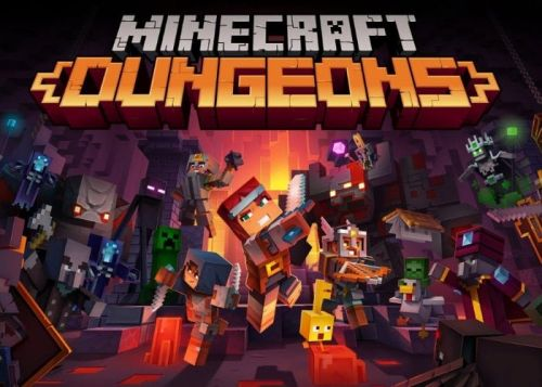 Minecraft Dungeons available today on Xbox Game Pass