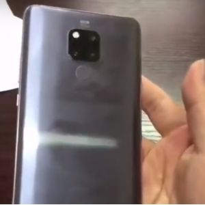 Silver Huawei Mate 20 makes appearance in new hands-on video
