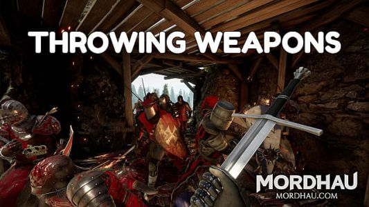 How to Throw Weapons in Mordhau